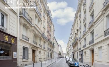3240 - Vente Appartement - 2 pièces - 43 m² - Paris (75) - Entre Guy Moquet et Brochant