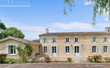 3408 - Vente Maison - 9 pièces - 353 m² - Pugnac (33) - Vignoble / Centre-ville
