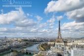 3331 - Location Appartement - 4 pièces - 120 m² - Paris (75) - Vue Tour Eiffel / Seine