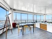 3403 - Location Appartement - 4 pièces - 120 m² - Paris (75) - Vue Tour Eiffel / Seine