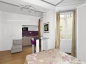 3444 - Vente Appartement - 1 pièces - 20 m² - Paris (75) - Rue Madame / Place Saint-Sulpice